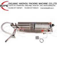 China Easy Operated Semi Automatic Bottle Filling Machine 50-500 Ml For Body Wash wholesale