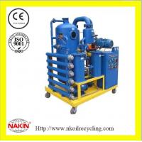 China Double-stage transformer oil purifier machine wholesale