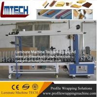 China Adjust width pvc paper film wrapping machine for marble wholesale