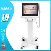 China HIFU machine with 3 treatment tips, 1.5mm, 3.0mm and 4.5mm for skin tightening, wrinkle re wholesale