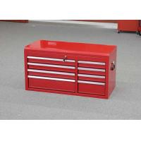 China Large Metal Professional Garage Top Tool Chest With 8 Drawers To Store Tools wholesale
