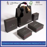 China Luxurious Appearance Custom Packaging Boxes Good Craftsmanship For Jewelry Set wholesale