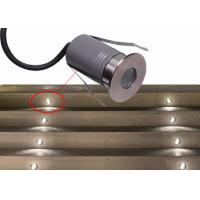 China DMX Waterproof Aluminum LED Mini Ground Light Warm White 3W LED In-ground Driveway Lights wholesale