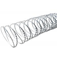 China High Protection Razor Barbed Tape Wire , Blade Concertina Razor Wire on sale
