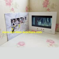 """China 4.3"""" , 5 inch video player advertisement card,advertising video book with Touch screen wholesale"""