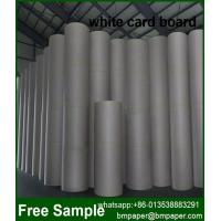 China Offset Printing 230-500gsm One Side Coated Paper Duplex Board on sale
