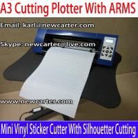 China A3 Vinyl Cutter Plotter With ARMS 12'' Cutting Plotter With AAS Mini Vinyl Sign Cutter 330 wholesale