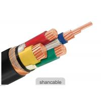 Quality Customized PVC Insulated Cables 600 / 1000V Rated Voltage With Three Half Core for sale