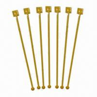 China Drink stirrers, available in various colors and designs  wholesale