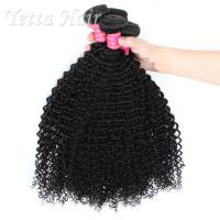 China Mongolian 20 inch 6A Virgin Hair Extensions Full End No Smell wholesale