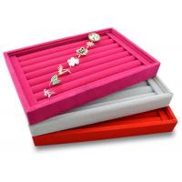 Quality Red Luxury LED Lighted Propose Engagement Ring Jewelry Box for sale
