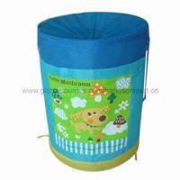 China Pop-up cartoon laundry bag/hamper with large carrying capacity wholesale