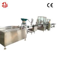 Vacuum Crimping Oxygen Filling Machine for Oxygen Gas / Fresh Air 2000-3200 cans/ hour Manufactures