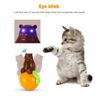 China Safe puzzle funny  Sound And Light Ball five kinds of sounds  pet bear & tumbler toys wholesale