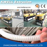 China Single Wall Corrugated Pipe Production Line, Wire/Cable Protective Pipe Extruder on sale