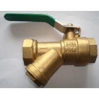 China Brass Filter Ball Valve (YED-A2001) wholesale