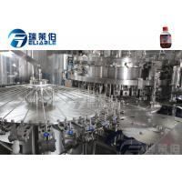 China Sparking Water / Gas Beverage Carbonated Drink Filling Machine Full Automatic wholesale