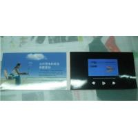 China 4′′ HD Screen LCD Invitation Card , Rechargeable Brochure With Video Screen on sale