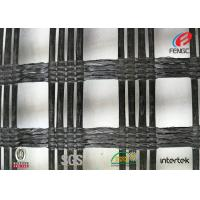 China Polyester Biaxial Geotextile Drainage Fabric , Soil Foundation Geosynthetic Materials wholesale