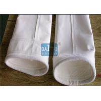 China 450 - 550 G/SQM Polyester Filter Bag Sewing Process Method CE Certificated wholesale