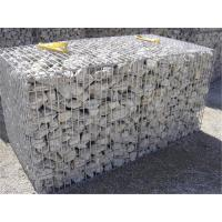 China Galfan Coated Rock Cage Retaining Wall 2 X 1 X 1M For Decorate Garden / Park on sale