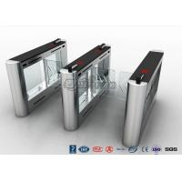 Buy cheap Anti - Collision Walk Through Metal Swing Barrier Gate Bus Station Card Reader System from wholesalers