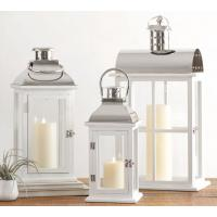 Candleholders Small Dapper Stainless Steel Candle Lantern Indoor Outdoor Yard Patio Hanging Or Tabletop Lanterns