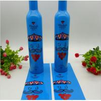 China Liquid Bottle Heat Shrink Sleeve Labels Customized Size QS / FDA Certificated on sale