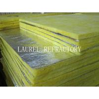 China Glass Wool Blanket Refractory Insulation Materials / Fiberglass Wool Roll Thermal Roof Building Materials wholesale