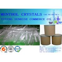 Colourless White Menthol Crystals Pharmaceutical Intermediates CAS 89-78-1