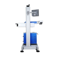 China High Speed CO2 Flying Online Laser Marking Machine on sale