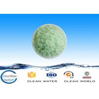 China High purity chemical ferrous sulfate blue green crystals for producing disinfectant wholesale