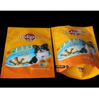 China Laminated Material Free Standing Value Pack Pet Food Bags For Adult Dog Biscuit wholesale