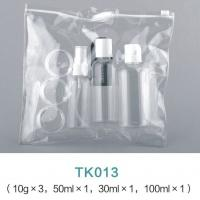 China Cosmetic Packaging 30ML 50ML 100ML Plastic Spray bottles Travel Bottle Kit With PVC Bag wholesale