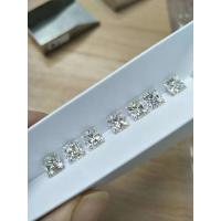 China High quality Moissanite DEF color 8mm3.0cts VVS clarity princess cut for engagement ring wholesale