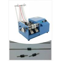 China Taped Resistor / Diode Lead Cutting Machine , Axial Lead Forming Cutting Machine wholesale
