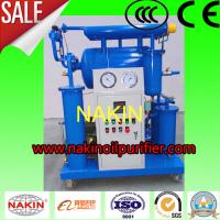 China High Efficiency  Transformer Oil Purifier , Single Stage Insulating Oil Filtration Machine wholesale