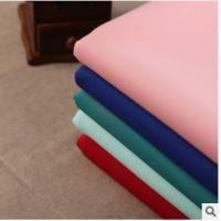 China Weft Polyester Spandex Sandwich air layer fabric Spot stretch suit casual wear fabrics wholesale