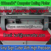China Adhesive Vinyl Decal Cutter 630 Cutting Plotter With Contour Cut Vinyl Letter Cutter Kuco wholesale