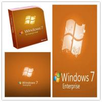 China Genuine Windows 7 Enterprise License Key , 32/64 Bit Microsoft Win 7 Enterprise wholesale