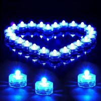 China Flower Shape Battery Operated Tea Candles, Flameless Flickering Led Tea Lights on sale