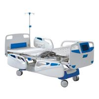 China Commercial Hospital Patient Bed Hospital Nursing Bed Height Adjustable on sale