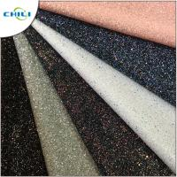 Buy cheap Diamond Chunky Glitter Fabric Sheets Canvas Backing Anti Mildew Waterproof from wholesalers