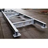 Quality Q235 Galvanized Structural Steel Fabricators Exquisite Welding Process for sale