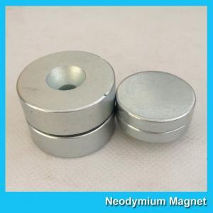 China N52 Disc Thick Neodymium Countersunk Magnets 19mm Diameter x 6mm wholesale