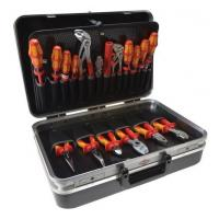 China Portable Aluminum Tool Case With Black Velvet And Silk Type Material In The Interior on sale