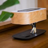 China Office table lamp with wireless charger and bluetooth speaker wholesale