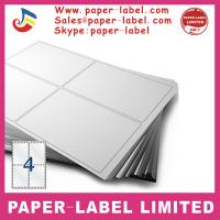 China Label Dimensions: 105mm x 148mm Software Compatible Codes: 3483, DPS04 A4 labels wholesale