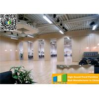 Aluminum High Partition Acoustic Soundproof Multilayer Structure Sliding Room Dividers Manufactures