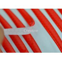 China Reflection 3D Raised Resin Dome Stickers Bubble Dome Labels Red Customized wholesale